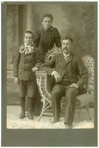 Another chair, Mom, Dad and Child