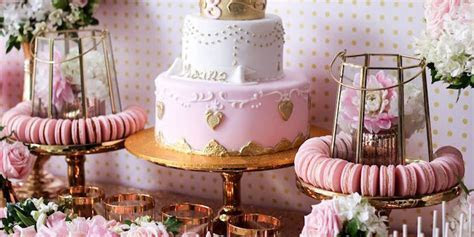 Kara's Party Ideas Copper, Pink & Gold Princess Party