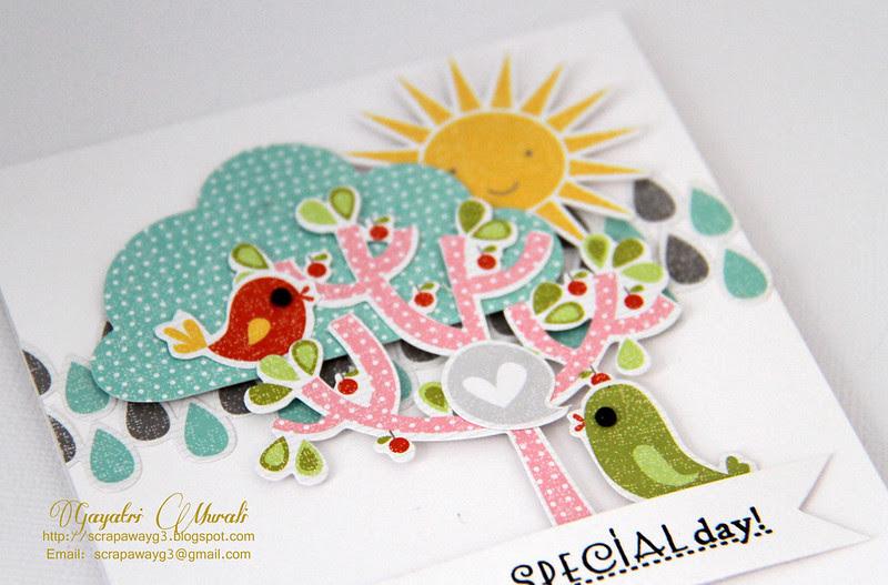 mega close up of the card