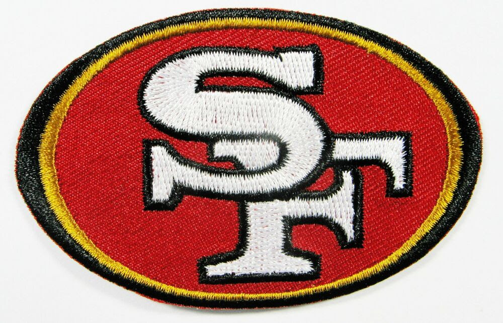 LOT OF 1 NFL SAN FRANCISCO 49er LOGO PATCH IRONON 3 3/8quot; X 2quot; ITEM  16  eBay