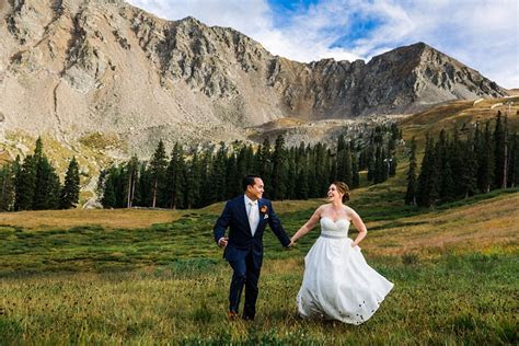 Jim & Kate's Arapahoe Basin Wedding in Keystone, CO   Top