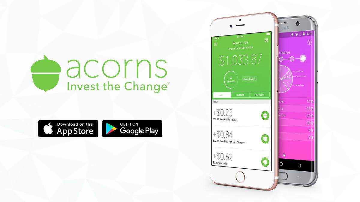 Acorns Trading app-appsnigeria