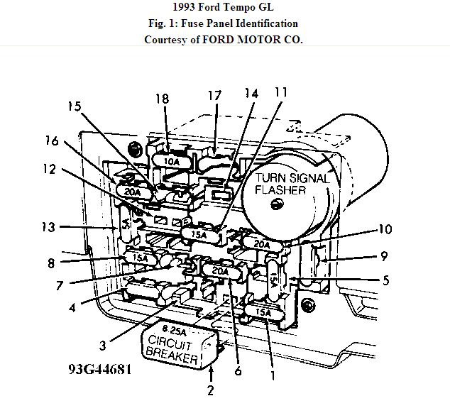 Diagram 1993 Ford Tempo Fuse Box Diagram Full Version Hd Quality Box Diagram Diagramsloop Csarcheometria It