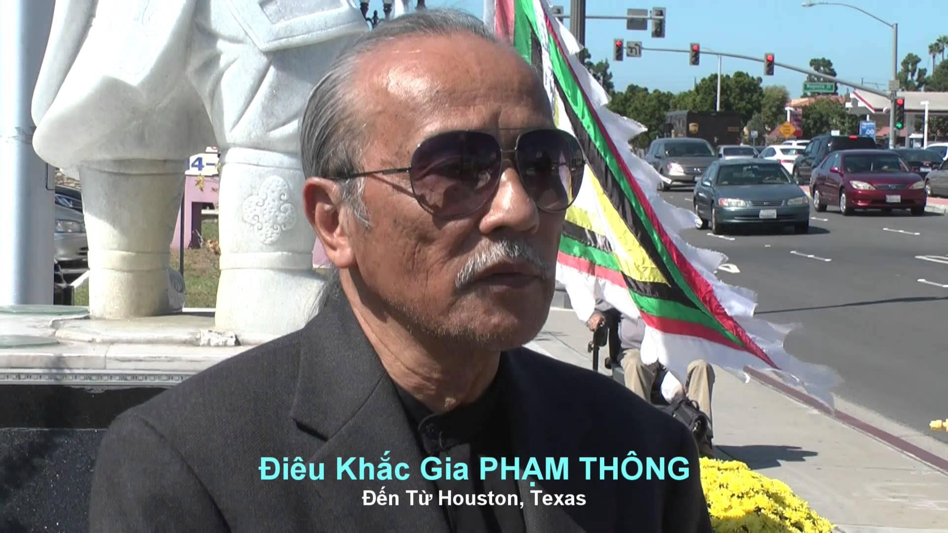 Điêu khắc gia Phạm Thông từ trần ở Houston, thọ 73 tuổi