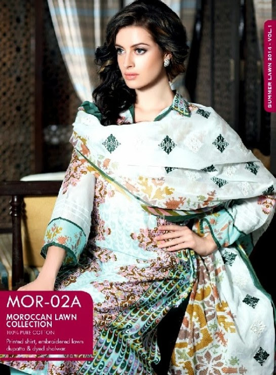 Girls-Wear-Summer-Dress-Chunri-Prints-Block-Prints-Embroidered-Single-Lawn-New-Fashion-Suits-by-Gul-Ahmed-3