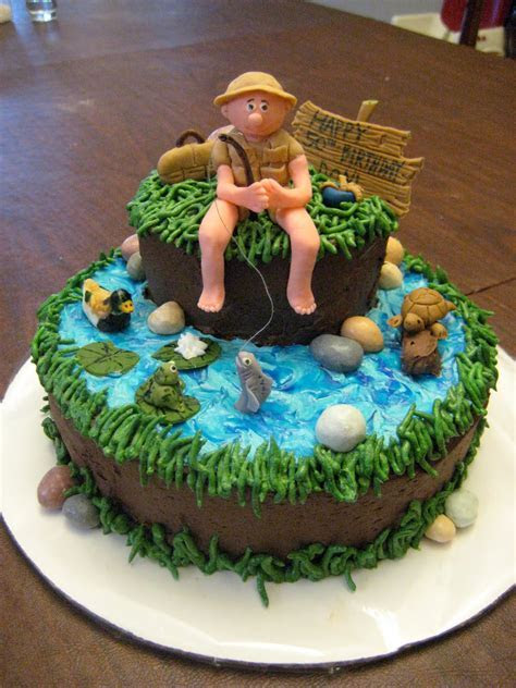 Fishing Cakes ? Decoration Ideas   Little Birthday Cakes