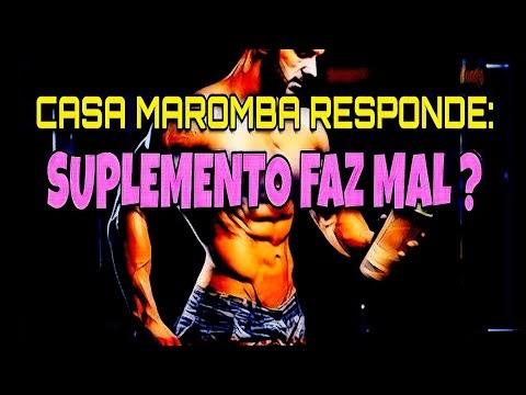 CASA MAROMBA RESPONDE WHEY FAZ MAL HIPERCALÓRICO FAZ MAL  TERMOGENICO FAZ MAL?