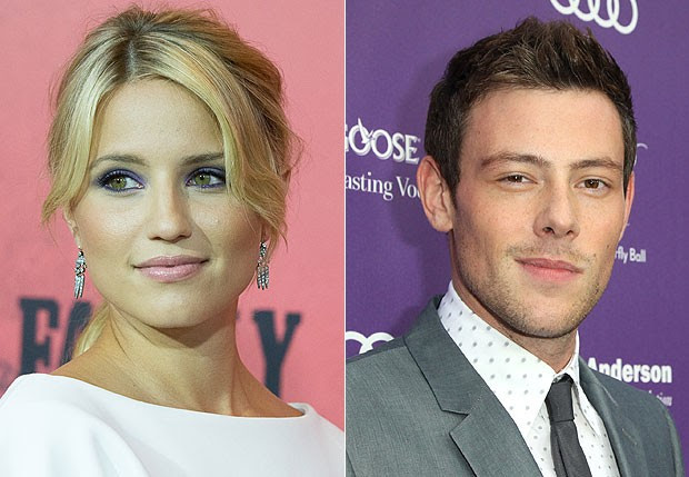Dianna Agron e Cory Monteith (Foto: Getty Images)