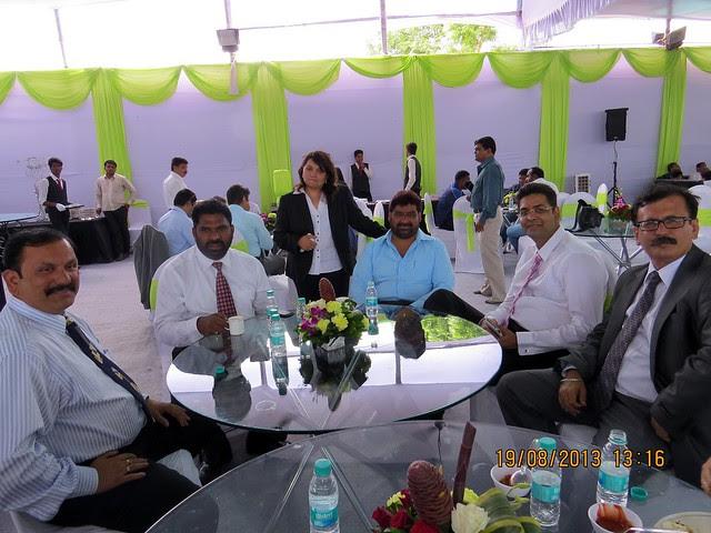 Shirish Konalikar, V P, Technical; Laxman Tambe, V P, Sales; Swati Deshpande, V P, Marketing; Akil Khan, Director; Sharad Mundra, Sr V P, Large Projects; Kuldeep Khosla, V P, Operations, Mumbai; at UrbanGram Shirwal Pune