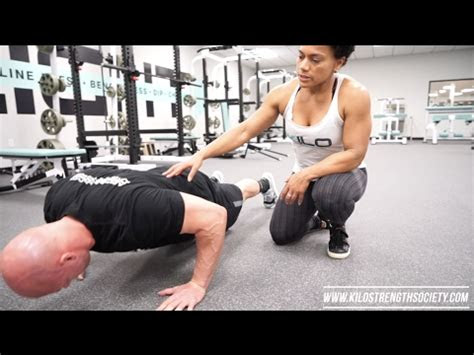 proper push  technique youtube