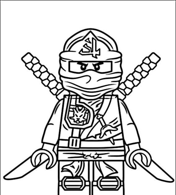 lego ninjago ausmalbilder kostenlos