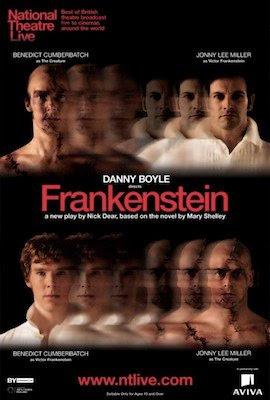 National Theatre Live: Frankenstein poster