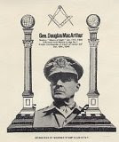 General Douglas Macarthur, Freemason, Freemasonry, Freemasons, Masonic, Signals, Signs
