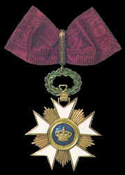 Commander, Order of the Crown
