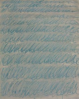 Untitled 1971 by Cy Twombly