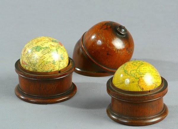 MOON RIVER: gentlemen's pocket globes
