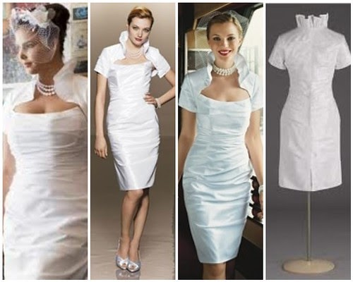 Reception Dress Or Ceremony Dress? It's Stylish And