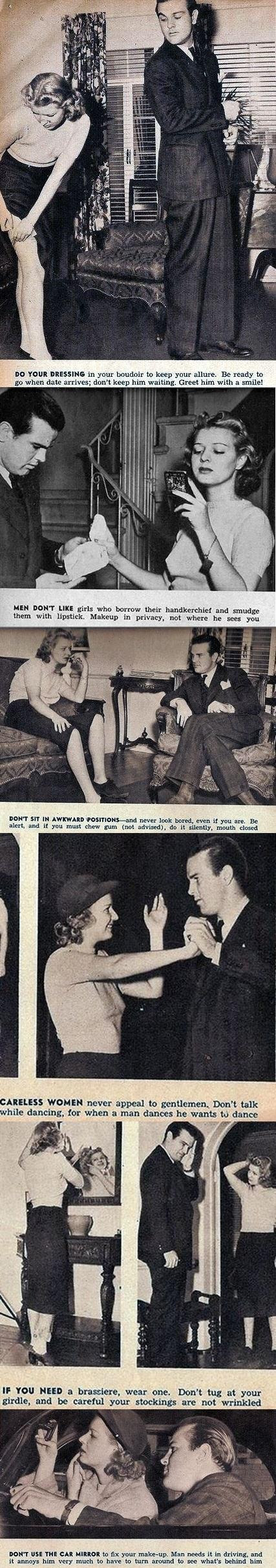 How to please a man on a date (1930): Part 1