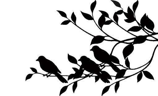 Birds on a branch  220x160 min buy 3