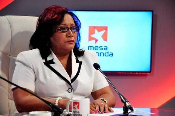 Mirurgia Ramírez Santana, directora general de servicios del Ministerio de Comercio Interior . Foto: Roberto Garaicoa / Cubadebate.