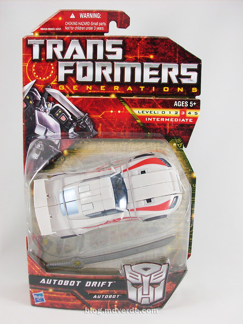 Transformers Drift Generations Deluxe - caja
