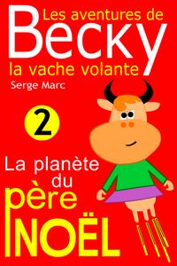 Les aventures de Becky la vache volante dessin à imprimer livre numérique enfants