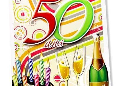 Carte Bon Anniversaire 50 Ans Nanaryuliaortega Site