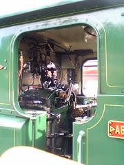 Cab of Abt locomotive