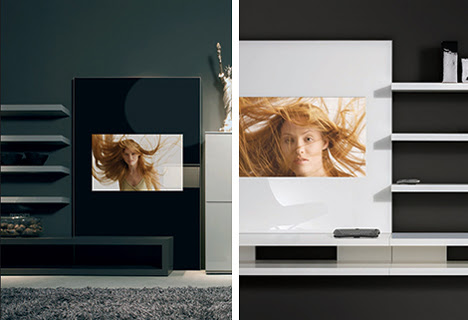 Art of Glass: Mirror-Fronted TVs More Than Mere Appliances ...