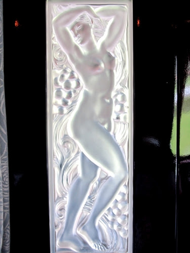 Lalique Art Deco glasswork on the Orient Express