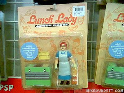 Lunch Lady Action Figure, spatula cutie.