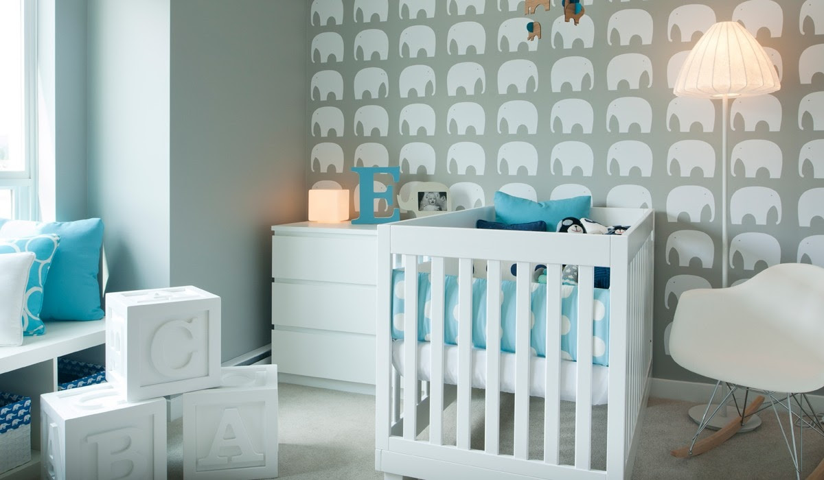 DARLING MODERN BABY BOY NURSERY TOUR WITH JILLIAN GOULDING ...