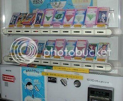 Maquinas expendedoras extrañas