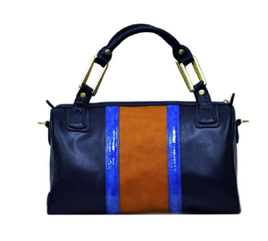 Image of Chelsea Color Block Satchel