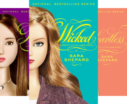 A Pretty Little Liars Box Set: Wicked: The Second Collection: Wicked, Killer, Heartless, Wanted (4 Book Series) by  Sara Shepard
