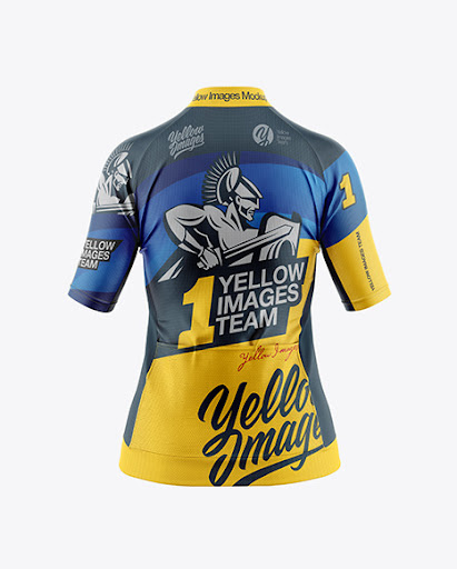 Download Womens Cycling Jersey Jersey Mockup PSD File 118.11 MB