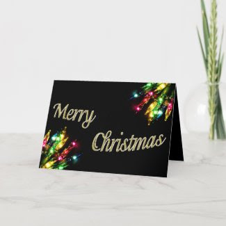Christmas Lights card