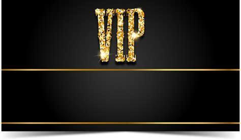 Black VIP cards vector material 02 free download