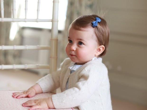 Princesa Charlotte completa 1 ano na segunda-feira (2) (Foto: Reprodução Kensington Palace )