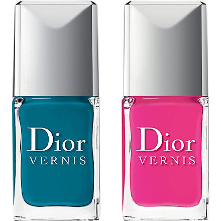 DIOR Birds of Paradise Dior Vernis Nail Polish Duo (Bahia