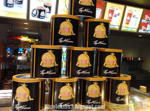 royal popcorn tins