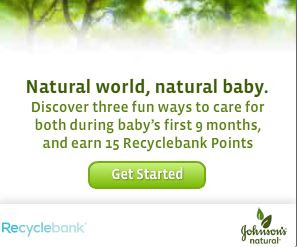 recyclebank johnsons 45 More Recyclebank Points Available Today