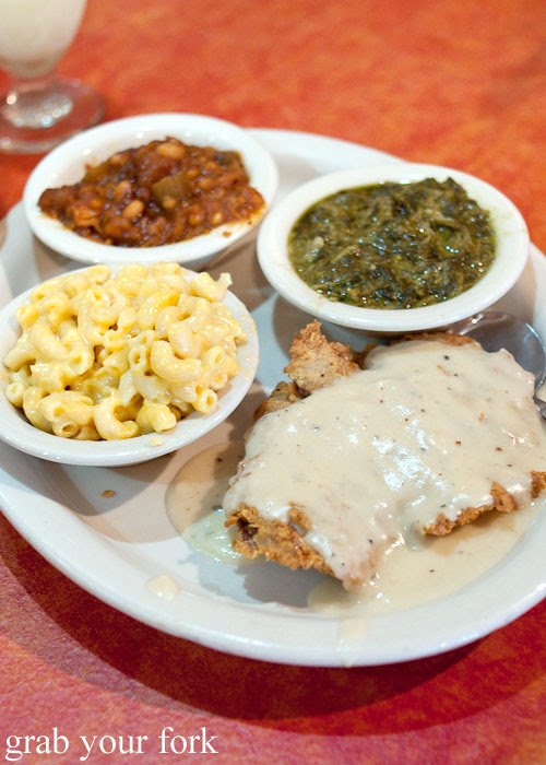 chicken fried steak at hoover's cooking austin texas