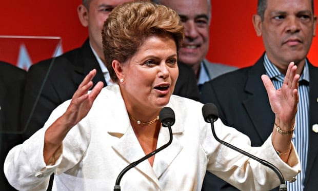 Dilma Rousseff is being urged to focus more on Brazil's role in the world in her second term.