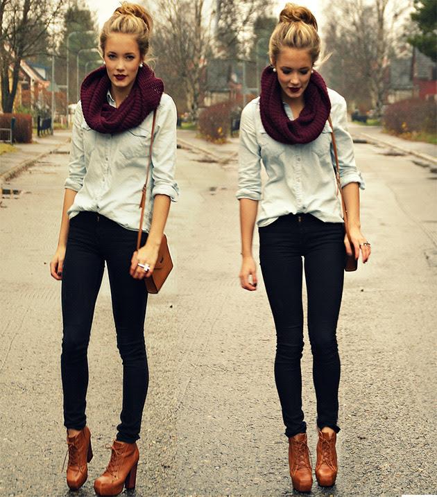 camisajeans3 COMO USAR: Camisa Jeans
