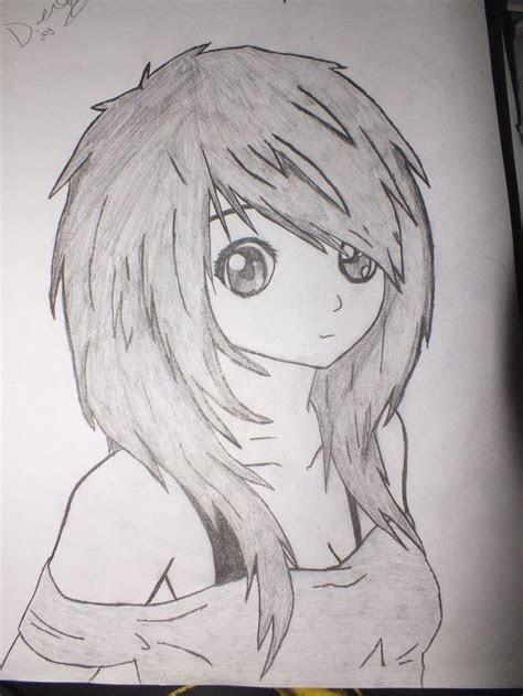 easy pencil drawings  manga google search arts