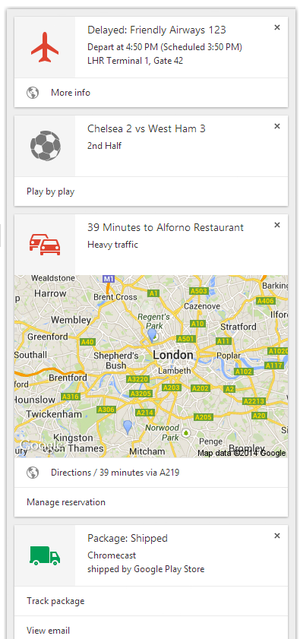 Google agora lança para versões desktop do Chrome, e é um sistema de duas vias