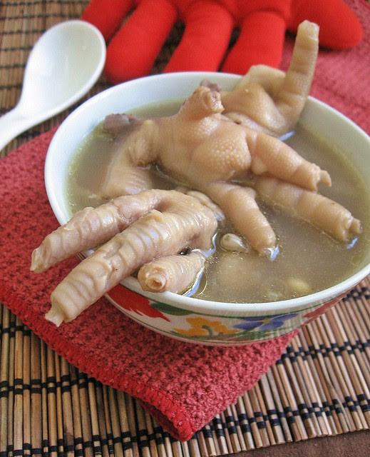 Chicken Feet And Beans Soup Bone Healing Part