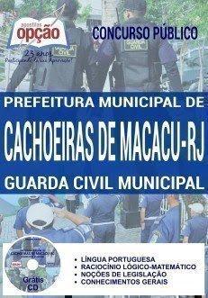 apostila GUARDA CIVIL MUNICIPAL macacu rj