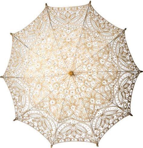Lace parasols for guests          Cotton Lace Parasol (31